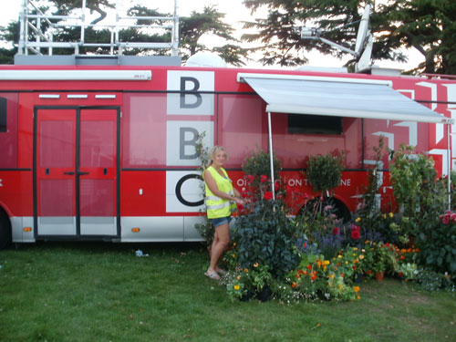The BBC asked for some horticultural assistance.....